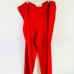 NWT! CATO Red Classic Dress Pants